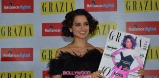 Kangana Ranaut launches Grazia cover