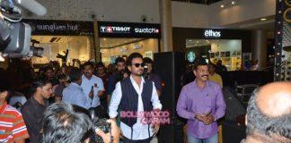 Irrfan Khan promotes Madaari in Mumbai