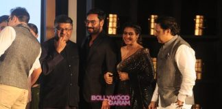 Ajay Devgn, Kajol and Vivek Oberoi at Padmabhushan event – Photos