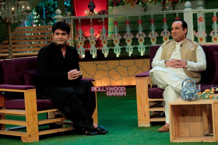 Rahat fateh kapil show1