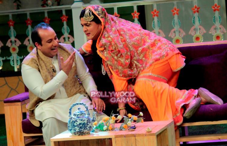 Rahat fateh kapil show2