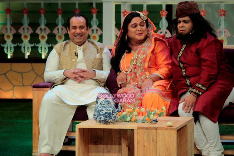 Rahat fateh kapil show3