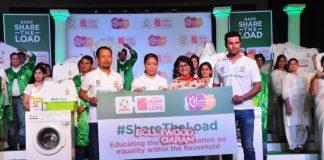 Randeep Hooda and Mary Kom promote detergent brand