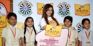 Raveena Tandon joins P & G Shiksha movement for betterment of underprivileged children