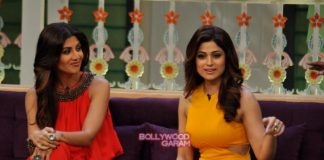 Shilpa Shetty and Shamita Shetty have fun on The Kapil Sharma Show