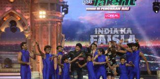 Salman Khan and Anushka Sharma promote Sultan on India's Got Talent – Photos
