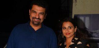 Vidya Balan and Siddharth Kapur at Te3N special screening