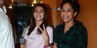 Alia Bhatt with Masaba Gupta catches special screening of Udta Punjab