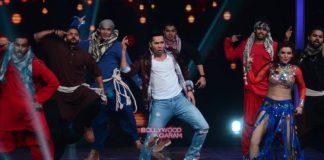 Dashing Varun Dhawan promotes Dishoom on sets of Sa Re Ga Ma Pa – Photos