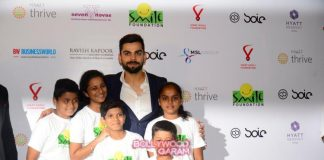 Virat Kohli hosts charity dinner with Smile Foundation
