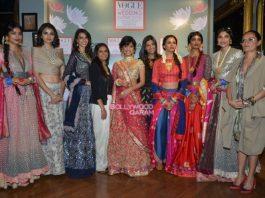 Sayani Gupta stuns as showstopper at Vogue Wedding Show 2016