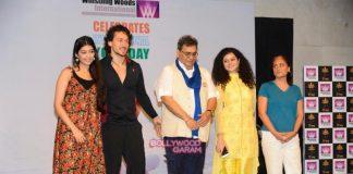 Tiger Shroff, Subhash Ghai and Palak Munchhal observe World Yoga Day