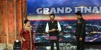Anil Kapoor promotes 24 season 2 on India's Got Talent