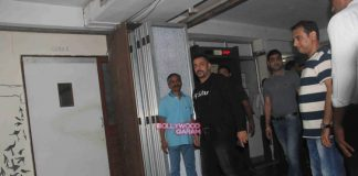 Salman Khan attends Daisy Shah's debut play Begun Jaan