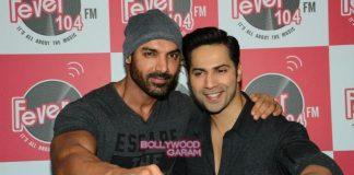Dishoom stars Varun Dhawan and John Abraham have a blast at Fever FM