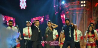 Varun Dhawan, Jacqueline Fernandez and John Abraham promote Dishoom on India's Got Talent