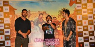Varun Dhawan and John Abraham promote Dishoom with fans