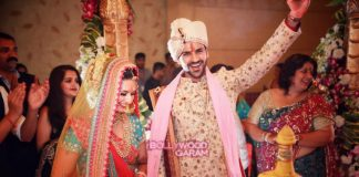 TV actress Divyanka Tripathi and Vivek Dahiya enjoy their wedding rituals – Photos