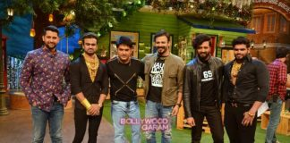 Vivek Oberoi, Aftab Shivdasani and Riteish Deshmukh promote Great Grand Masti on The Kapil Sharma Show  – Photos