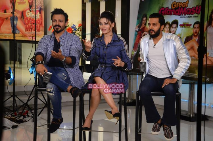 Great grand masti promotions1