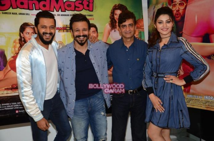 Great grand masti promotions3