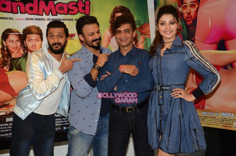 Great grand masti promotions5