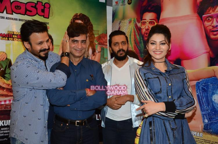 Great grand masti promotions6