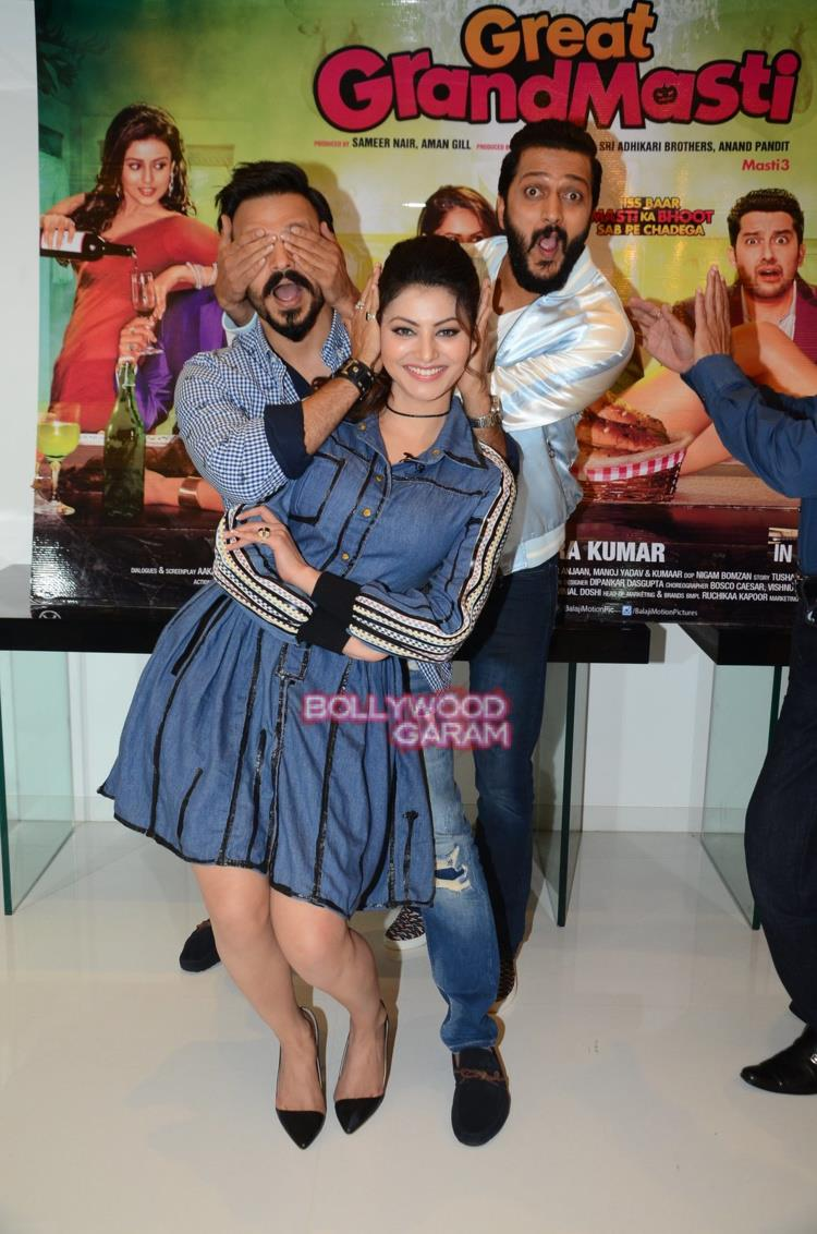 Great grand masti promotions7