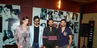 Riteish Deshmukh, Vivek Oberoi, Aftab Shivdasani and Urvashi Rautela refuse to talk about online leak of Great Grand Masti