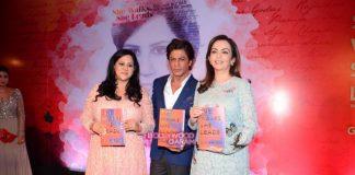 Shahrukh Khan and Nita Ambani launch Gunjan Jain's book She Leads She Walks
