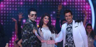 Jacqueline Fernandez, Karan Johar and Ganesh Hegde shoot for Jhalak Dikhhla Jaa 9