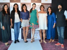 Evelyn Sharma judges Lakme Fashion Week model auditions