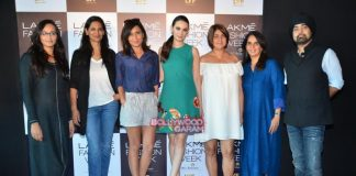 Evelyn Sharma judges Lakme Fashion Week model auditions