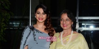 Tanisha Mukherjee and Tanuja attend NGO Stamp party