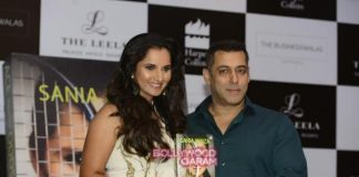 Salman Khan launches Sania Mirza's autobiography Ace Against Odds