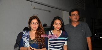 Bollywood celebrities at Satish Kaushik's play Mr. and Mrs. Murarilal premiere
