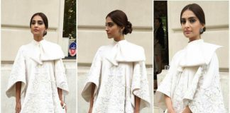 Sonam Kapoor stuns at Paris Fashion Week