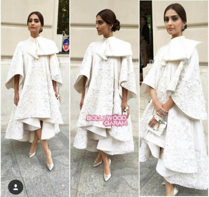 Sonam paris fashion2