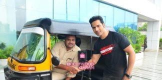 Varun Dhawan promotes Dishoom on streets