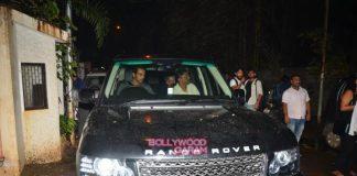 Arjun Rampal catches special screening of Madaari
