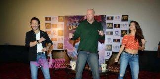 Tiger Shroff and Jacqueline Fernandez promote A Flying Jatt in Delhi