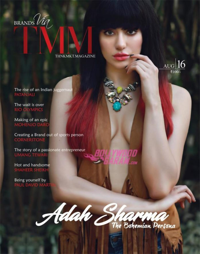 Adah Sharma magazine1