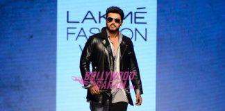 Lakme Fashion Week Winter Festive 2016 Photos – Arjun Kapoor turns showstopper for Sahil Aneja