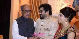 Prime Minister Narendra Modi attends Babul Supriyo's wedding ceremony – Photos