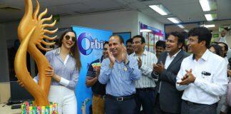 Deepika Padukone visits Wrigley's factory at Bengaluru