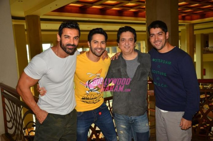 Dishoom promo with rohit1