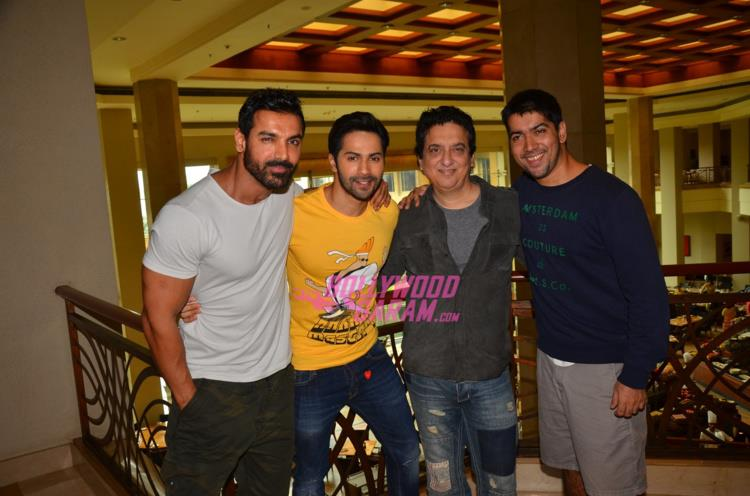 Dishoom promo with rohit2