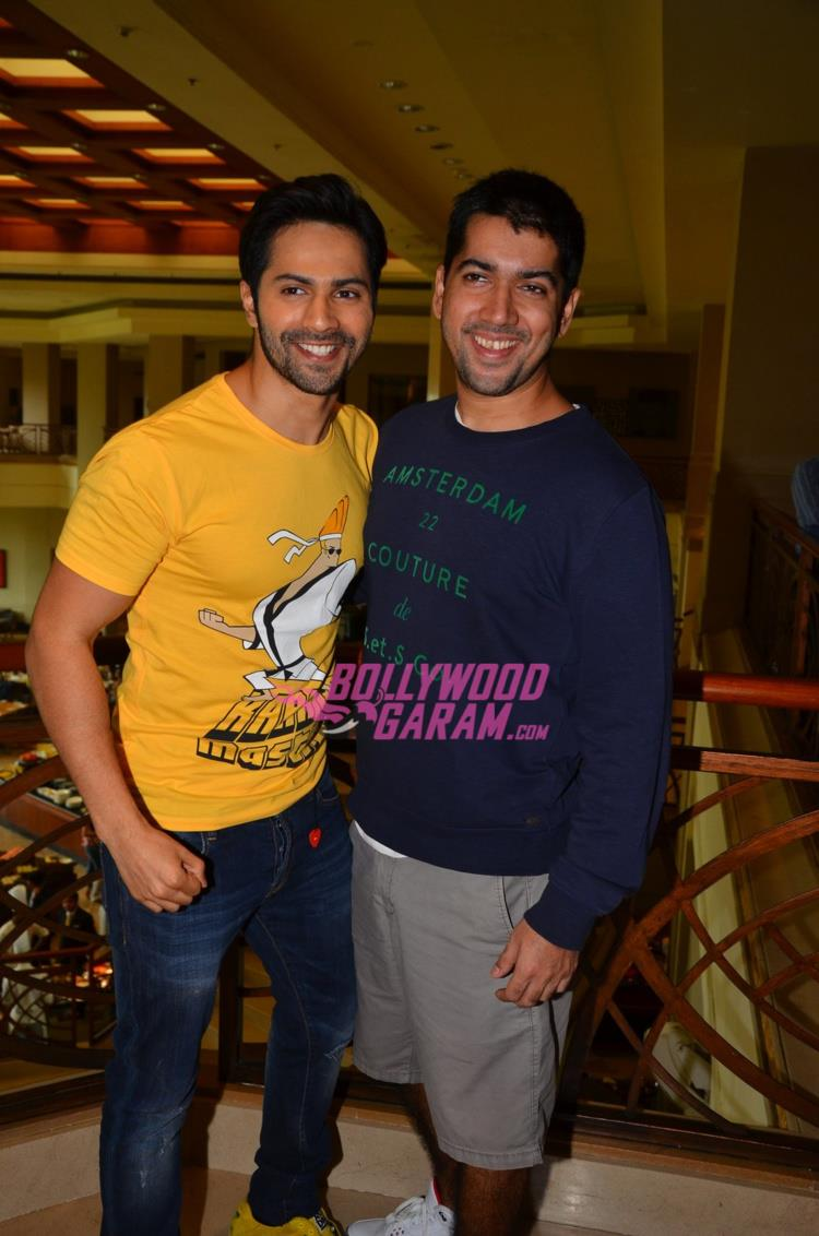 Dishoom promo with rohit4