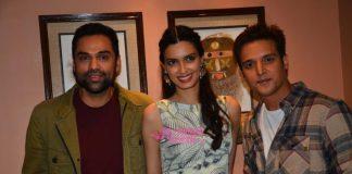 Abhay Deol, Diana Penty and Jimmy Shergill promote Happy Bhag Jayegi