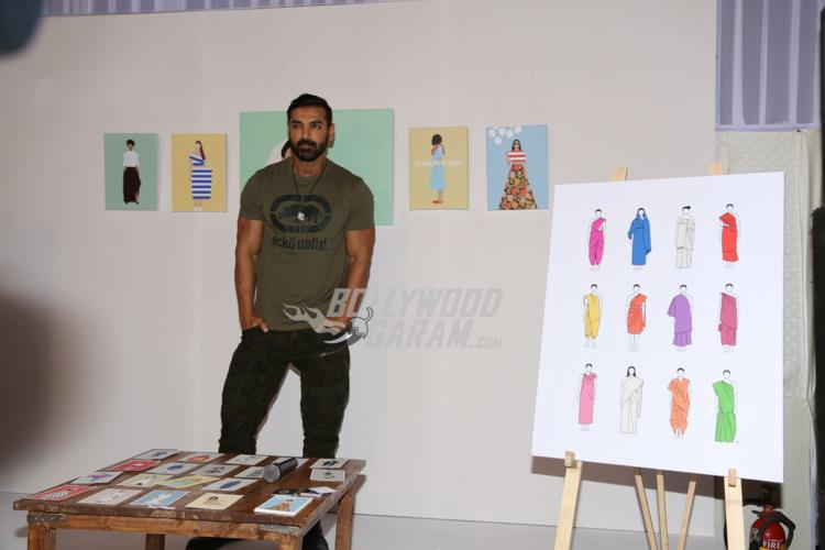 John Abraham at Fashion Illustration